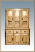 Glacier Country Log China Hutch Product Image