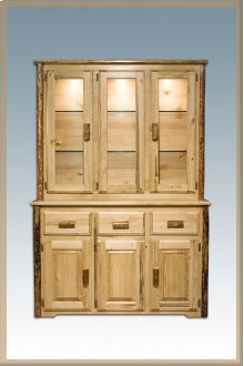 Glacier Country Log China Hutch