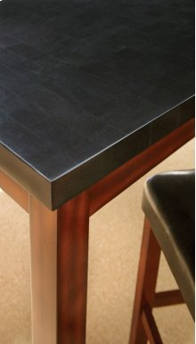 "Granite Bello Counter Table 54"" x 54"", (36""H)"