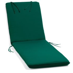 Chaise Cushion - Canvas Hunter Green