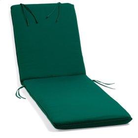 Chaise Cushion - Canvas Hunter Green