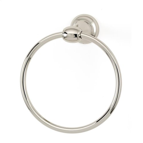 Royale Towel Ring A6640 - Polished Nickel