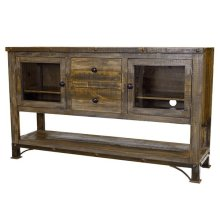 "60"" Urban Rustic TV Stand"