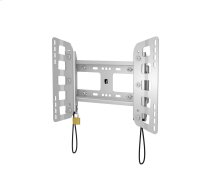Plano 100 Medium Fixed TV Mount, Silver