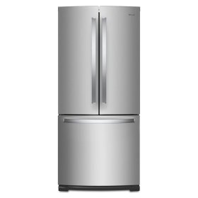 Whirlpool® 30-inch Wide French Door Refrigerator - 20 cu. ft. - Fingerprint Resistant Stainless Steel