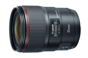 Canon EF 35mm f/1.4L II USM L Series wide angle prime lens
