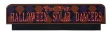 Halloween Solar Dancers Sign