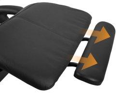 Perfect Chair Extending Footrest - ExtendingFootrestinBlackSofHyde