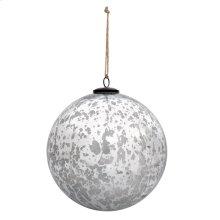 """6"""" Classic Silver Ball Ornament"""