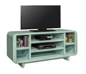 "Pillbox Blue 66"" TV Console"