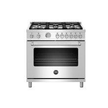 "36"" Master Series range - Gas oven - 6 brass burners - LP version"
