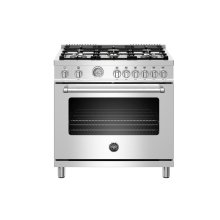 "36"" Master Series range - Gas oven - 6 brass burners - LP version"
