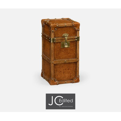 Travel Trunk Style Wine Box