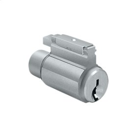 Cylinder for Residential Knob Series - Brushed Chrome