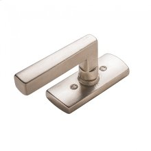 Convex Tilt & Turn Window Escutcheon - EW30500 White Bronze Brushed