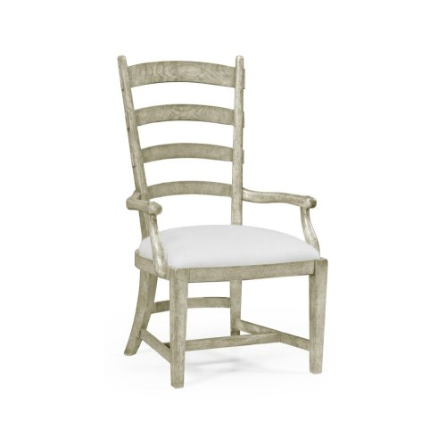 Greyd Oak Fireside Armchair (COM)