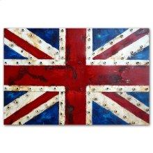 Union Jack 31x47 Metal