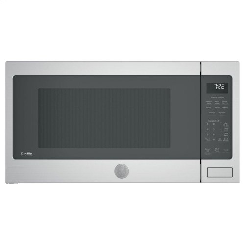 SAVE!!! - DID NOT FIT IN CUSTOMERS OPENING - FULL WARRANTY - GE Profile™ Series 2.2 Cu. Ft. Countertop Sensor Microwave Oven - MODEL PES7227SLSS