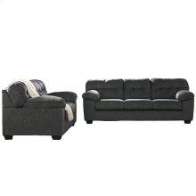 Signature Design by Ashley Accrington Living Room Set in Granite Microfiber [FSD-1339SET-GRT-GG]