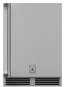 "24"" Hestan Outdoor Undercounter Refrigerator (Solid Door) - GRSR Series"