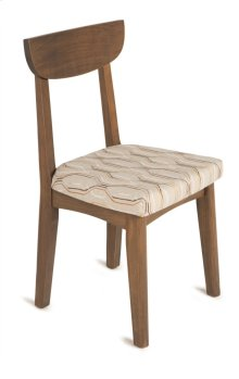 Sophia Side Chair with Wood or Upholstered Seat