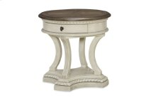 Renaissance Round End Table