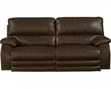 Power Headrest w/Lumbar Lay Flat Reclining Sofa
