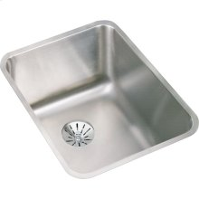 "Elkay Lustertone Classic Stainless Steel 16-1/2"" x 20-1/2"" x 9-7/8"", Single Bowl Undermount Sink with Perfect Drain"