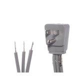 Smart Choice 6' 15-Amp. 3-Prong Dishwasher Power Cord, Angled