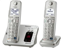 Link2Cell Expandable Cordless Phone with Amplified Volume- 2 Handsets