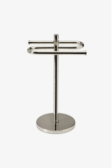 Waterworks Essentials Countertop Guest Towel Rack STYLE: WETB02