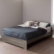 Platform Bed - Modern Design - 60''