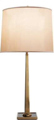 Visual Comfort BBL3025SB-S Barbara Barry Petal 31 inch 150 watt Soft Brass Decorative Table Lamp Portable Light