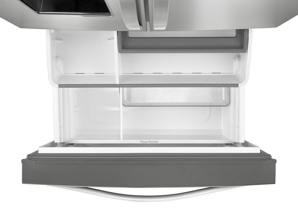 Hidden · Additional 36 Inch Wide French Door Refrigerator With Infinity  Slide Shelf   32 Cu.