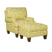 Kelly Fabric Chair, Kelly Ottoman
