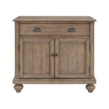 Farmhouse Hall Chest - Natural