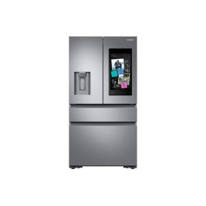 Samsung22 cu. ft. Family Hub Counter Depth 4-Door French Door Refrigerator in Stainless Steel