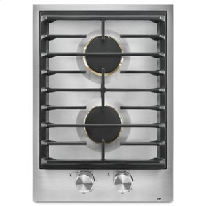 "Jenn-AirCustom 15"" 2-Burner Gas Cooktop"