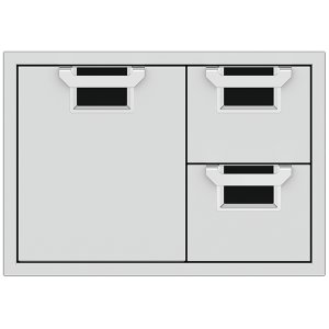 AESDR30_30_Double-Drawer_Storage-Door-Combo__Stealth_ - STEALTH