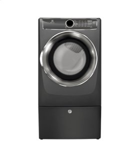 Scratch and Dent - Front Load Perfect Steam Electric Dryer with Instant Refresh and 9 cycles - 8.0 Cu. Ft.