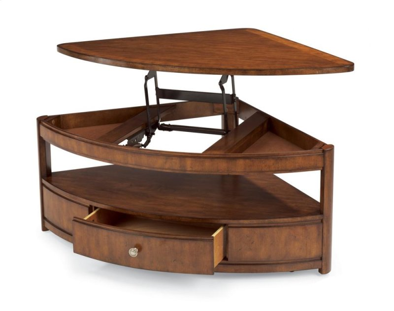 Arbor Wedge Lift Top Coffee Table