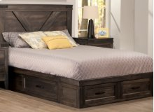 Chattanooga 4 Drawer Queen Condo Bed (2 on end/1 each side)