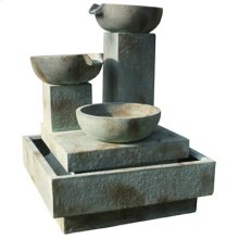 Trio Cascade Outdoor Fountain