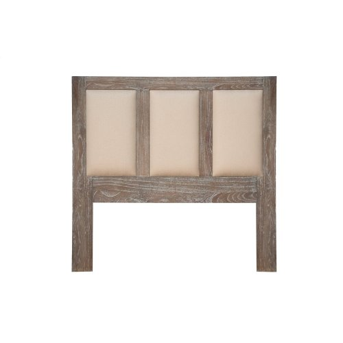 King Size Headboard, Available in Washed Texture Finish Only.