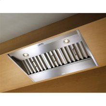 """34-3/8"""" Stainless Steel Range Hood with External Blower Options. (Shell Only)"""