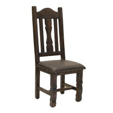 Ox Yoke Chair with Leather Seat