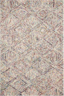 Interlock Itl01 Multicolor Rectangle Rug 5' X 7'6''