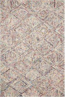 Interlock Itl01 Multicolor Rectangle Rug 5' X 7'6''