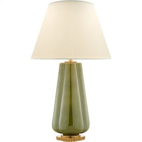Visual Comfort AH3127GRN-PL Alexa Hampton Penelope 30 inch 60 watt Green Porcelain Table Lamp Portable Light