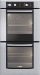 """27"""" Double Wall Oven 500 Series - Stainless Steel HBN5650UC Product Image"""